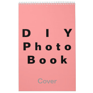 DIY ~ Photobook 26 Pages / Size 11x17 Calendar