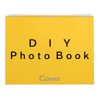 "DIY ~ Photobook 26 Pages / Size 14 1/4"" x 22"" Calendar"