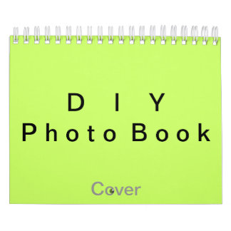 "DIY ~ Photobook 26 Pages / Size 7"" x 11"" Wall Calendar"