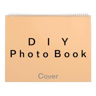 "DIY ~ Photobook 50 Pages / Size 14 1/4"" x 22"" Wall Calendar"