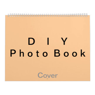 "DIY ~ Photobook 50 Pages / Size 14 1/4"" x 22"" Calendar"