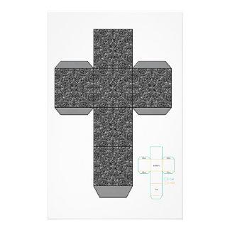 DIY- plantilla de la caja del diseño del Doodle de Papelería Personalizada