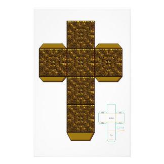 DIY- plantilla de oro de la caja del diseño del Do Papeleria