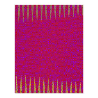 DIY Red Purple Gold Texture ADD light color TEXT Letterhead