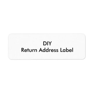 DIY Return Address Label