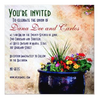 DIY Southwest-inspired Wedding Invitation