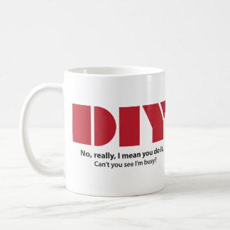 DIY soy taza ocupada