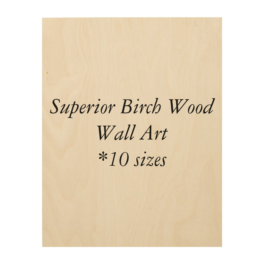 DIY Superior Birch Wood Wall Art