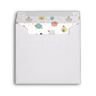 DIY sweet cute baby chicks party drawing Envelope
