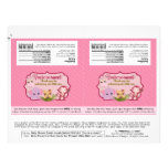 DIY Sweet Jungle Babies 1.55oz Candy Bar Wrappers Personalized Flyer