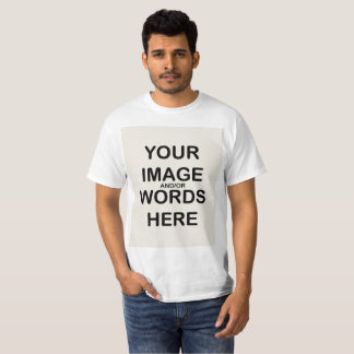 DIY - T-Shirt (Print Front and/or Back)