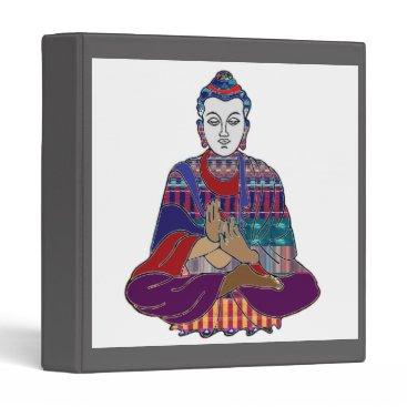 Professional Business DIY Template change IMAGE buddha buddhism 3 Ring Binder