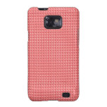 DIY TEMPLATE Pink Red Sparkle Pattern GIFTS Galaxy S2 Covers