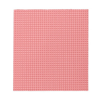 DIY TEMPLATE Pink Red Sparkle Pattern GIFTS Note Pad