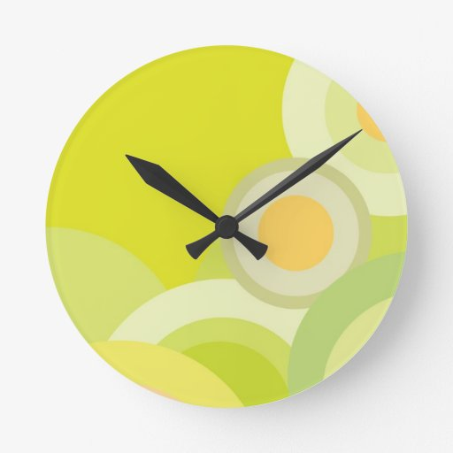 DIY : Template to add your text n image Wallclock