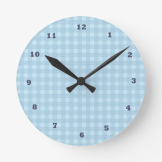 DIY : Template to add your text n image Round Clock