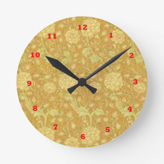 DIY : Template to add your text n image Round Wallclocks