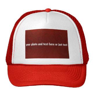 DIY trucker hat for teams, companies, families