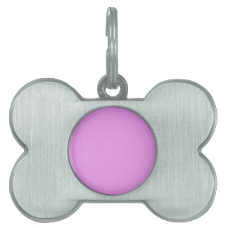DIY Ultra Pink Color You Personalize It Gift Item Pet ID Tag