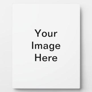 DIY usted hace su propio artículo de encargo del r Placas Con Foto