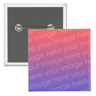 DIY usted lo crea usted mismo botón personalizado Pin Cuadrado