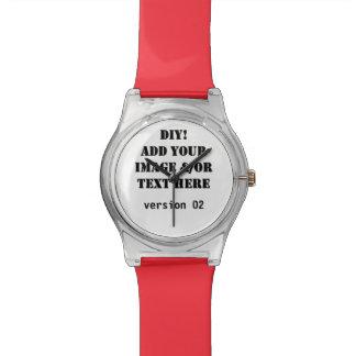 DIY usted lo diseña usted mismo el reloj de