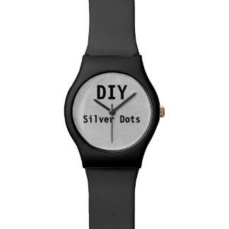 DIY usted lo diseña usted mismo los puntos v19 de Reloj De Mano