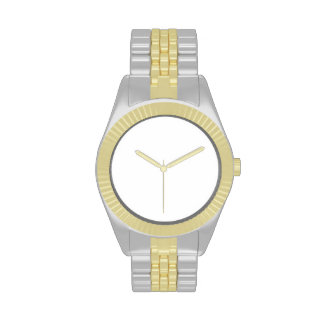 DIY Watch Two-Tone with Gold and Silver Tone Watch