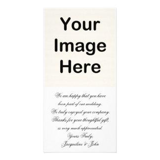 DIY ~ Wedding Thank You Photo Card