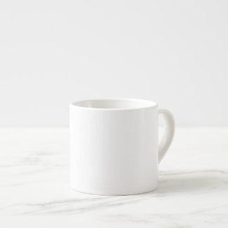DIY White ~ Espresso Mug 6oz 6 Oz Ceramic Espresso Cup