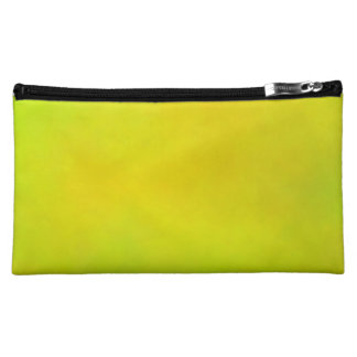 DIY Yellow Green Faded Background v08 Makeup Bag