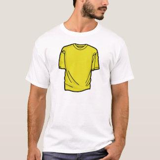 DIY Yellow T-Shirt