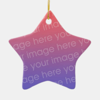 DIY You Create Your Own Custom Zazzle Gift Item Ceramic Ornament