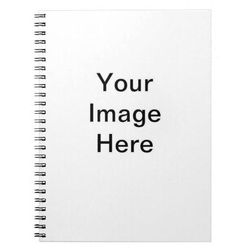 DIY You Design Your Own Custom Invitation Item Spiral Note Book