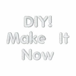 DIY Zazzle Custom Embroidered Clothing V07 Embroidered Jacket