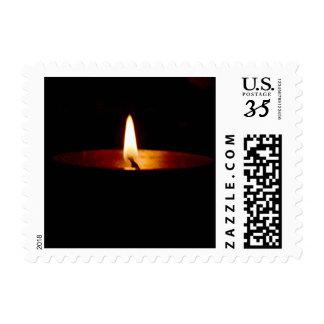 Diya or Light Photo Print Postage