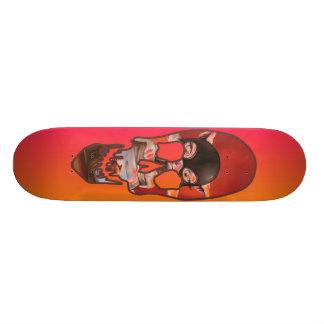 DizWiz KatzSkulz Rider Skateboard