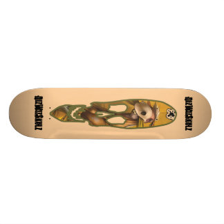DizWizSkulz Rider Skateboard