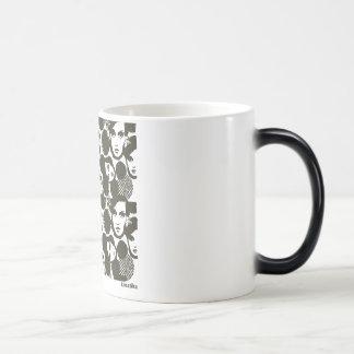 Dizziness 11 Oz Magic Heat Color-Changing Coffee Mug