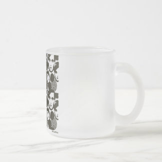 Dizziness 10 Oz Frosted Glass Coffee Mug