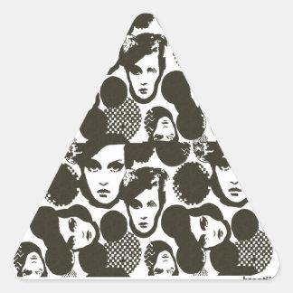 Dizziness Triangle Sticker