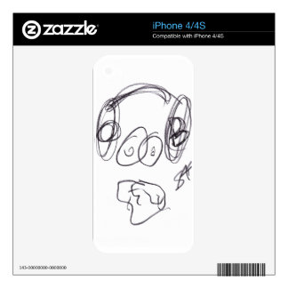Dizzy Beats iPhone 4/4s skin Skins For The iPhone 4S