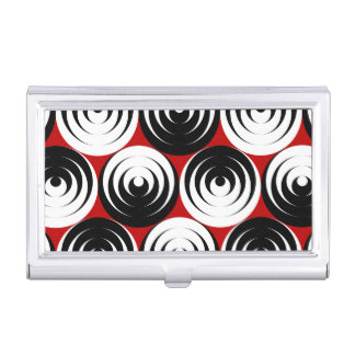 Dizzy circles case for business cards