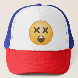 Dizzy Emoji Trucker Hat