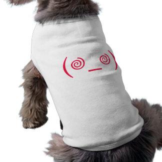 Dizzy en rojo camisetas mascota