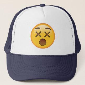 Dizzy Face - Emoji Trucker Hat