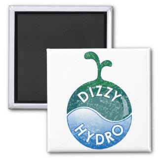 Dizzy Hydroponics Refrigerator Magnet