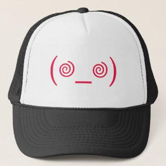 Dizzy in Red Trucker Hat