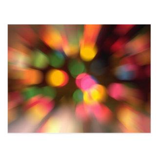Dizzy Lights Postcard