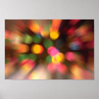 Dizzy Lights Poster